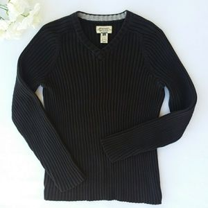American Rag Black Pullover Sweater Size Small